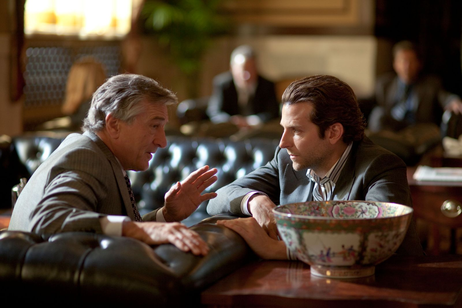 Robert De Niro has a proposition for Bradley Cooper.