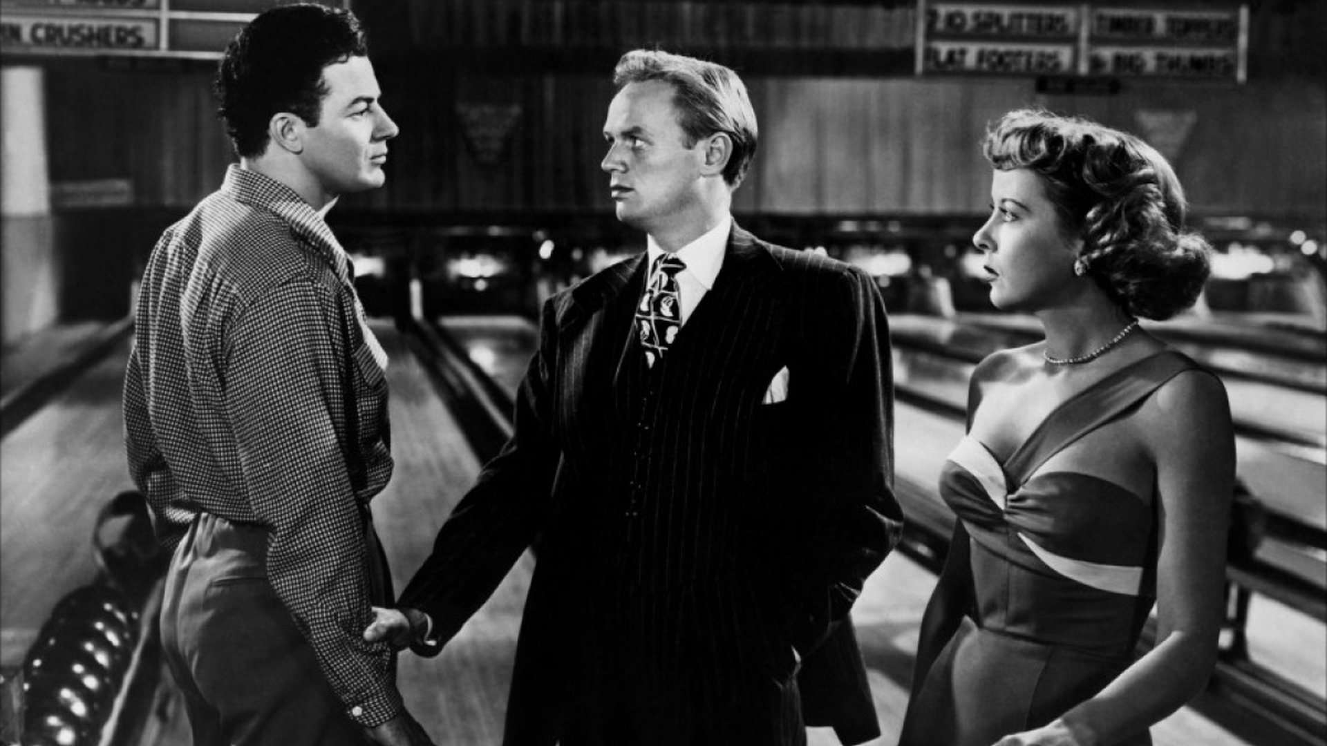 Manager Pete Morgan (Cornel Wilde), Jefferson T.