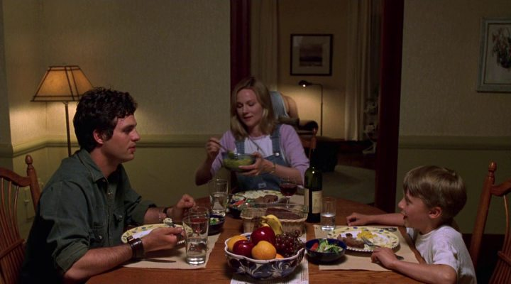 Family dinner with Mark Ruffalo, Laura Linney, and Rory Culkin